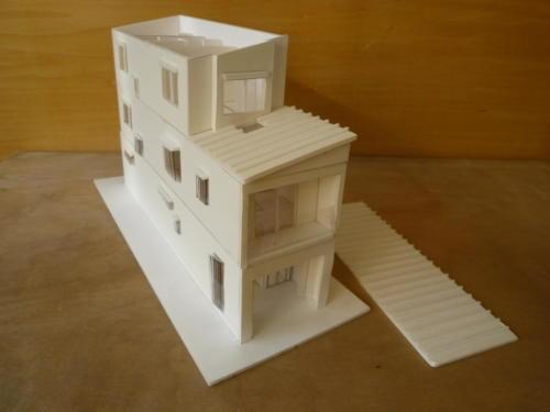 新築(模型)